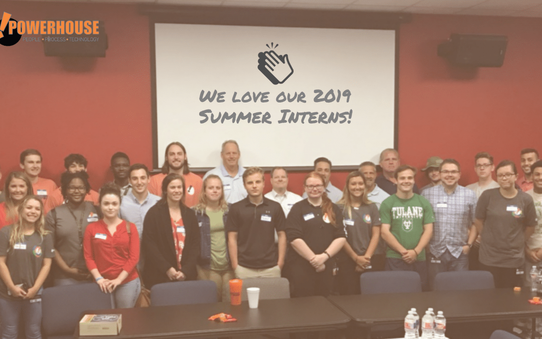 Thank You 2019 Summer Interns